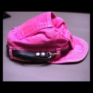 NWOT Pink Robo Cap Road Rag